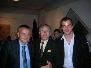 Emilio Slaviero, Bernard Millant und Tibor Kovács