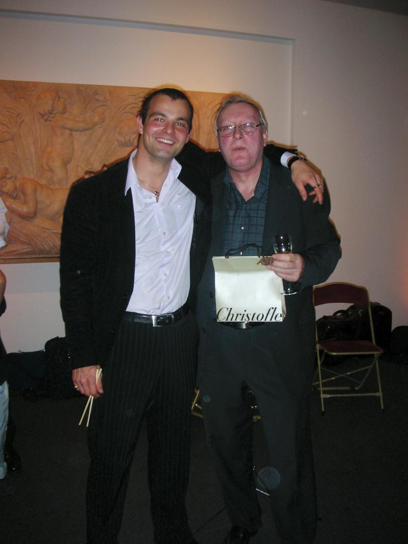 Kovács Tibor és Jean Francois Raffin