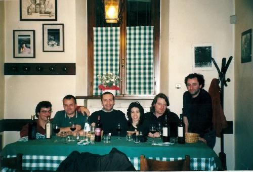 Kovács Tibor, Emilio Slaviero, Lorenzo Lazzarato, a hölgy ismeretlen, Martin So